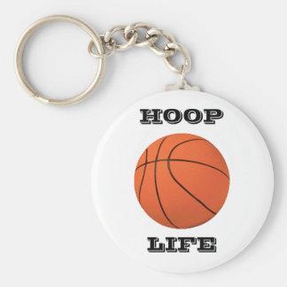 Hoop Life Keychain