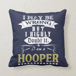 HOOPER is the BEST Throw Pillow