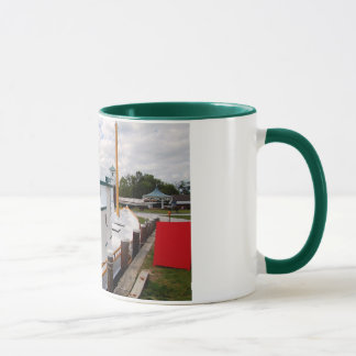 Hooper Strait Lighthouse & Crab Dredging Boat Mug