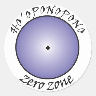 Hooponopono Classic Round Sticker