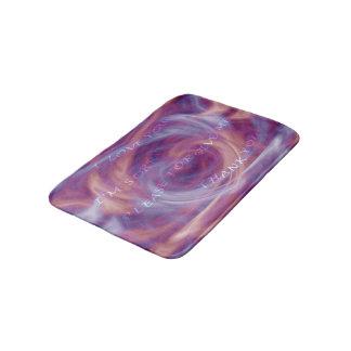 Ho'oponopono Purple Smoke Bath Mat
