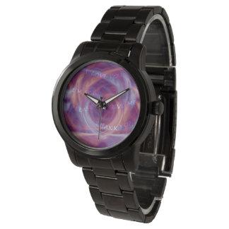 Ho'oponopono Purple Smoke Watch