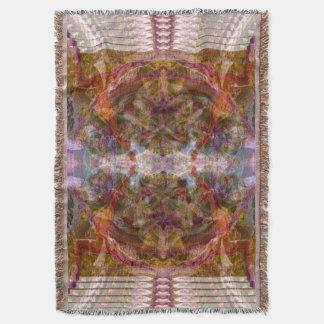 HoOponopono Yoga Sacred Geometry Blanket Throw Blanket