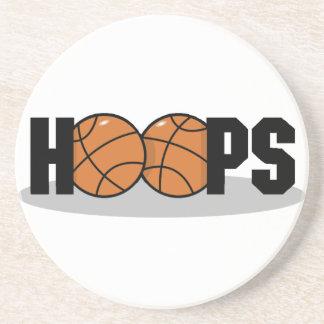 Hoops Basketball Coasters