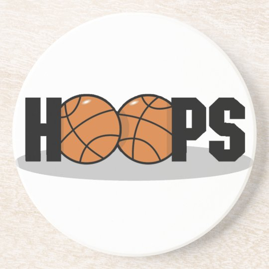 Hoops Basketball Coasters