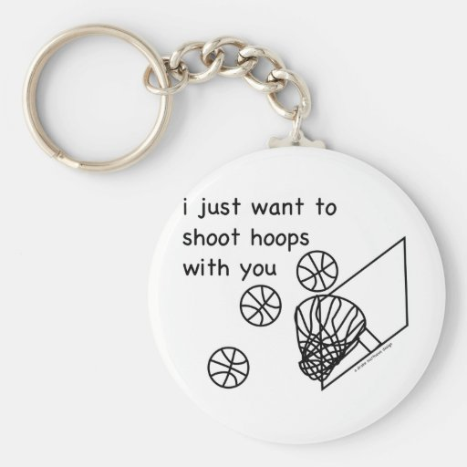 Hoops Keychains