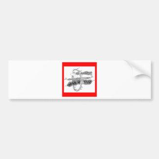 hoops of fire bumper sticker
