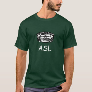 hooptie ride logo ASL T-Shirt
