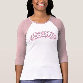 HoopWorld Gals 3/4 Sleeve Raglan - pink T-Shirt