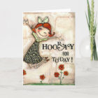 Hooray for Today - Birthday Card