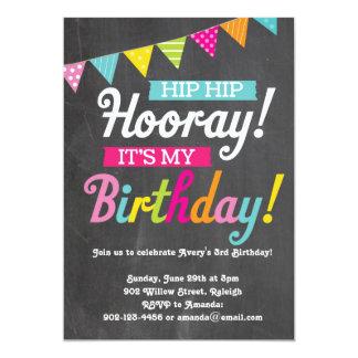 Hooray It's My Birthday Card