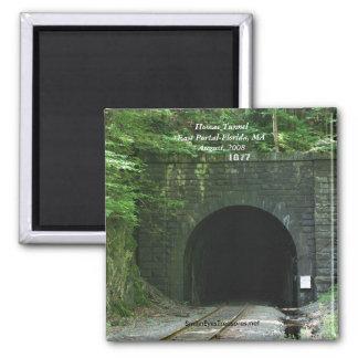 Hoosac Tunnel East Portal Florida MA Magnet
