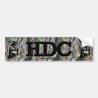 Hoosier Deer Club Bumper Sticker