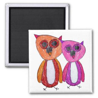 Hoot Hoot Owls Magnet