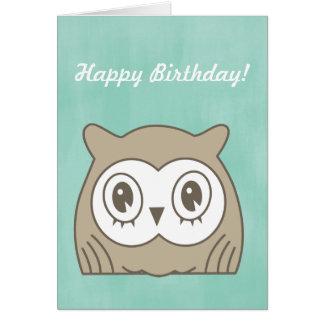 Hoot OWL Card