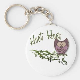 Hoot Owl Keychain