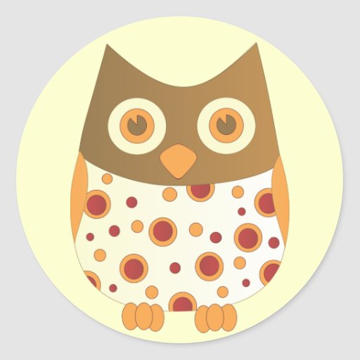 Hoot Owl Stickers