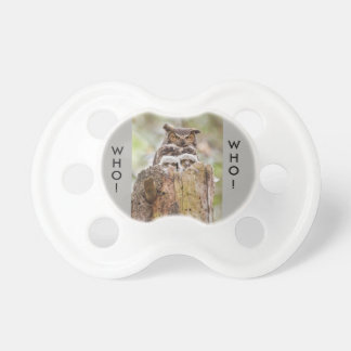 Hoot Owls Baby Pacifier