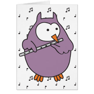 Hooter Fluter Card