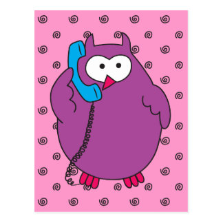 Hootie Call Postcard