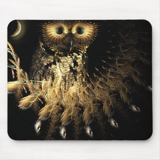 Hootie Owls Nest Mouse Pad