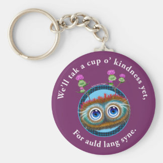 Hoots Toots Haggis. Auld Lang Syne. Keychain