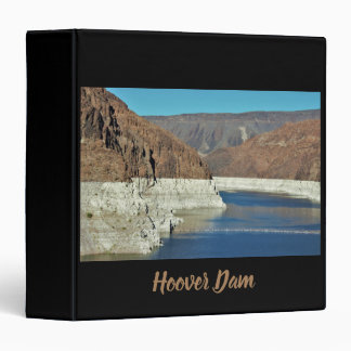 Hoover Dam 3 Ring Binder