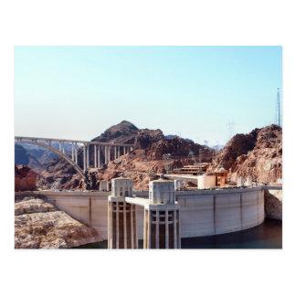 Hoover Dam 5 Postcard