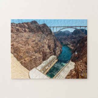 Hoover Dam Nevada. Jigsaw Puzzle