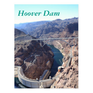 Hoover Dam Post Card