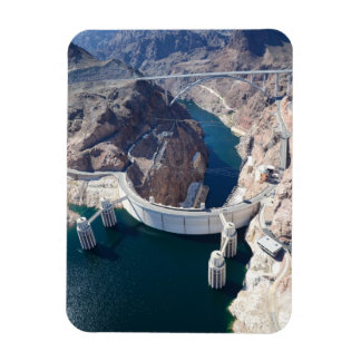 Hoover Dam Rectangular Photo Magnet