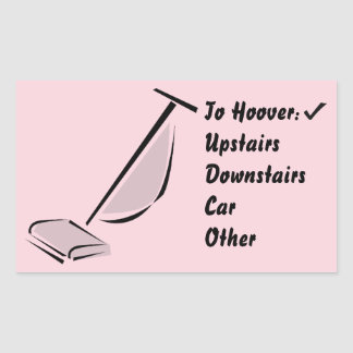 Hoover sticker