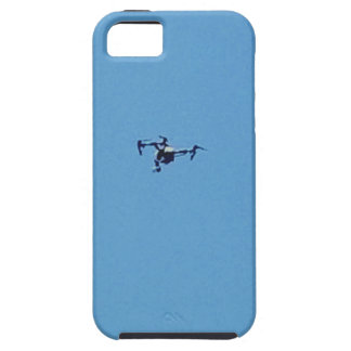 Hoovering Droid Against Blue Sky Simplicity iPhone 5 Covers