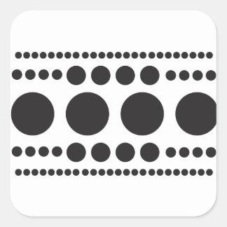 Hop-A-Dot Square Sticker