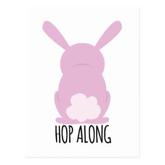 Hop Along Postcard