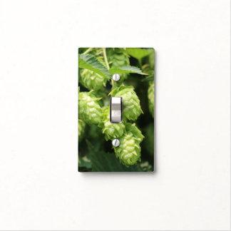 Hop Art: Wild hops for the beer lover's home light Light Switch Cover