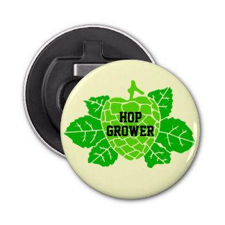 Hop Grower Hops Stencil Bottle Opener
