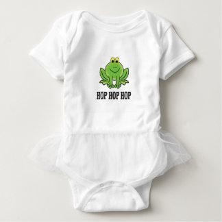Hop hop hop frog baby bodysuit