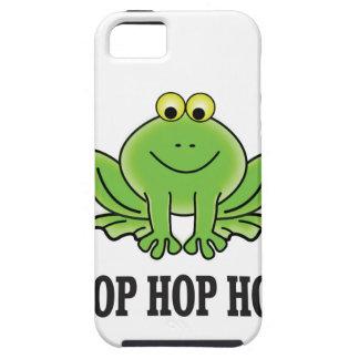 Hop hop hop frog iPhone 5 cover