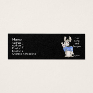 Hop Long and Prosper Mini Business Card