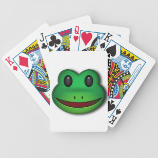 Hop on over to check out this Frog Design Bicycle Playing Cards