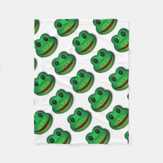 Hop on over to check out this Frog Design Fleece Blanket