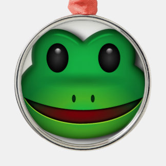 Hop on over to check out this Frog Design Metal Ornament