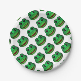 Hop on over to check out this Frog Design Paper Plate
