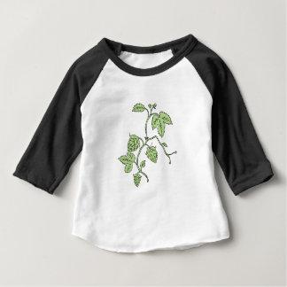 Hop Plant Climbing Drawing Baby T-Shirt
