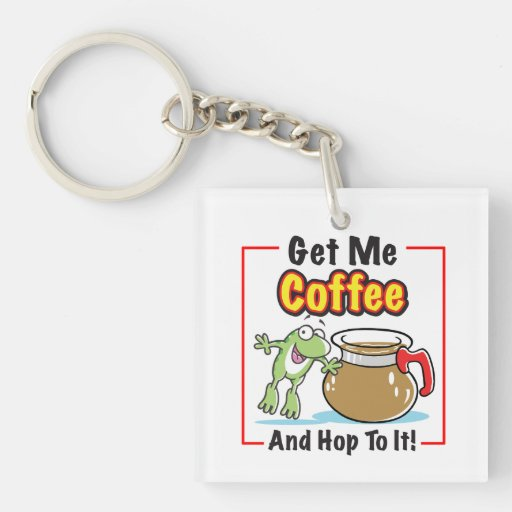 Hop To It Key Chain