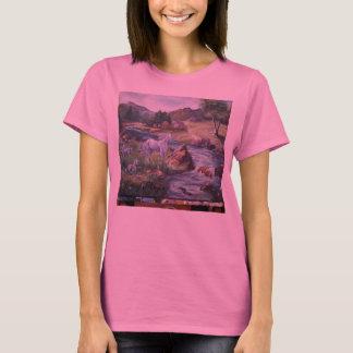 """hope 09 260, Art of Hope """"White Horse Stream"""" T-Shirt"""