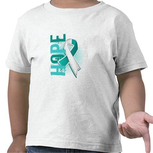 Hope 2 Cervical Cancer T Shirts