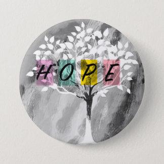 Hope 3 Inch Round Button