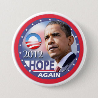 Hope Again / Obama 2012 3 Inch Round Button